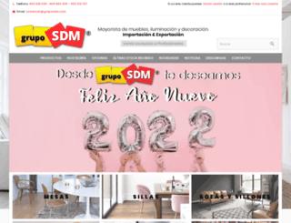 gruposdm.com screenshot