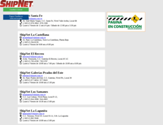 gruposhipnet.com screenshot