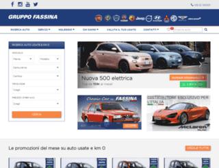 gruppofassina.it screenshot