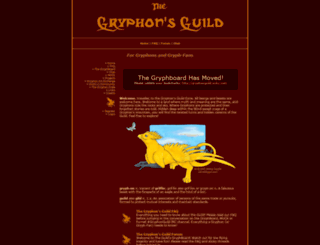 gryphguild.org screenshot