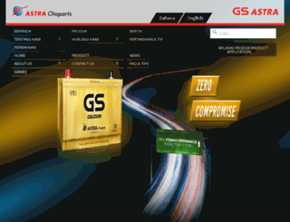 gs-astra.com screenshot
