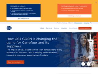 gs1.com screenshot