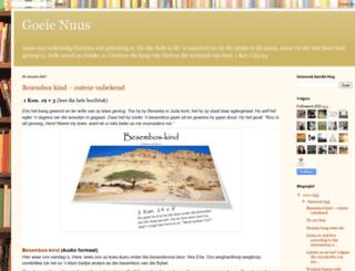gsa-goeienuus.blogspot.in screenshot