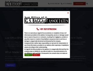 gsbagga.com screenshot