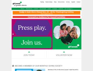 gsgatl.org screenshot