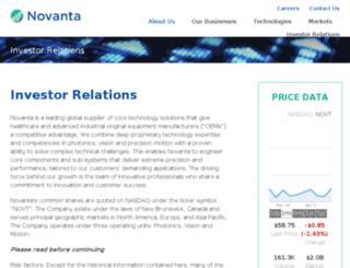 gsig.investorroom.com screenshot
