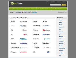gsm-unlock.com screenshot