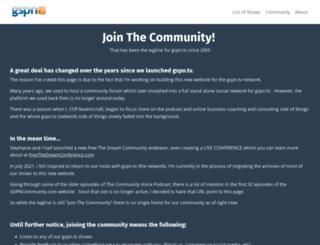 gspncommunity.com screenshot