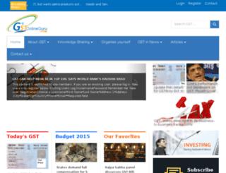 gstonlineguru.com screenshot