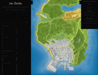 gta-5-map.com screenshot