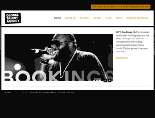 gtabookings.com screenshot