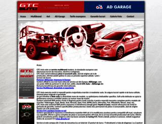 gtcauto.ro screenshot