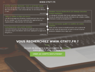 gtn77.fr screenshot
