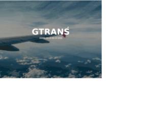 gtrans.co.kr screenshot