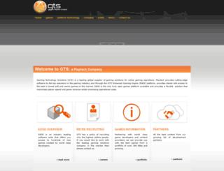 gtsplc.com screenshot