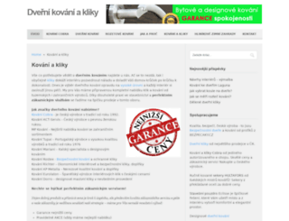gtv-kovani.cz screenshot