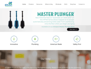 gtwaterproducts.com screenshot