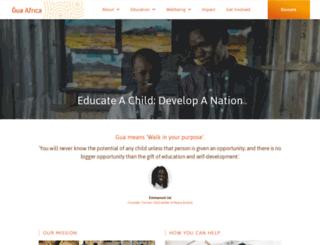 gua-africa.org screenshot