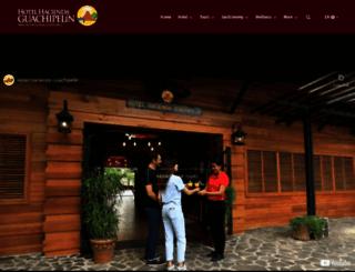 guachipelin.com screenshot