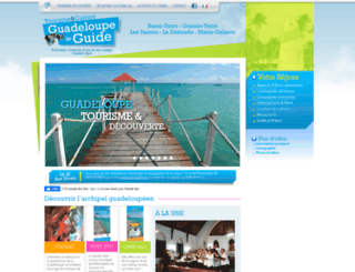 guadeloupe-leguide.fr screenshot