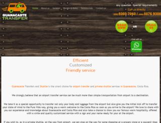 guanacastetransfer.com screenshot
