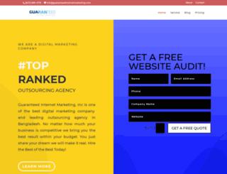 guaranteedinternetmarketing.com screenshot
