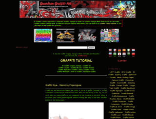 guardian-graffiti-alphabet.blogspot.com screenshot