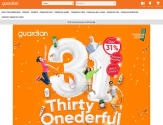 guardianindonesia.co.id screenshot