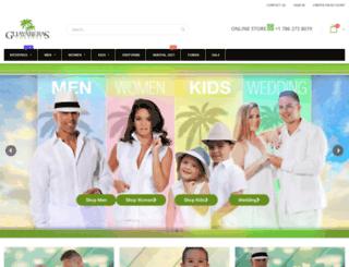 guayaberascubanas.com screenshot