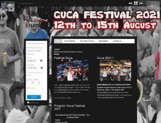guca-festival.com screenshot