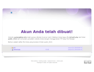 gudangiklan.info screenshot