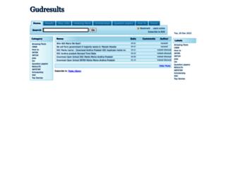 gudresults.blogspot.in screenshot