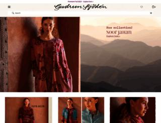 gudrunsjoden.com screenshot