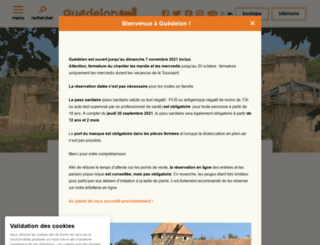 guedelon.fr screenshot
