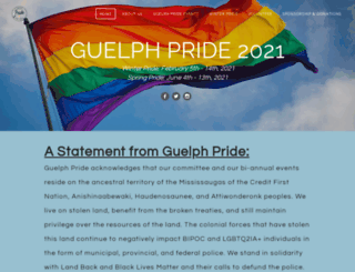 guelphpride.com screenshot