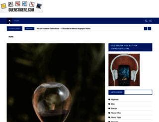 guenstigere.com screenshot