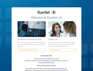 guerbet.co.uk screenshot