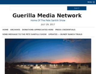 guerillamedianetwork.com screenshot