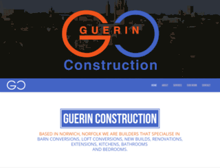 guerinconstruction.co.uk screenshot