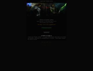 guerradetitanes.net screenshot