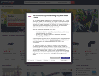 guestiger.de screenshot