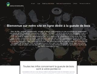 gueuledebois.info screenshot