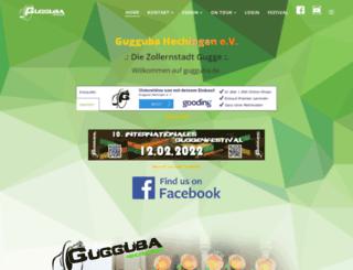 gugguba.de screenshot