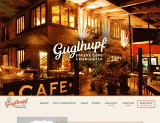 guglhupf.com screenshot