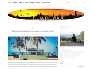 guia-de-viaje.com screenshot