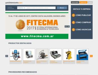 guiadelaindustria.com screenshot