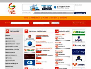 guiadeleste.com.py screenshot