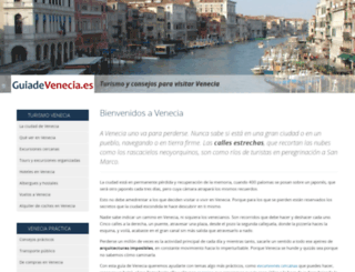 guiadevenecia.es screenshot