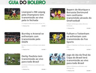 guiadoboleiro.com.br screenshot