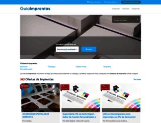 guiaimprentas.com screenshot